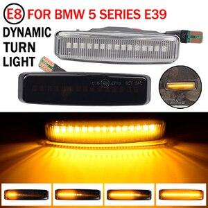 Image 3 - צד מרקר הפעל אות אור עבור BMW 5 סדרת E39 M5 LED דינמי מהדר סדרתית מנורת נצנץ נצנץ 1995 2003