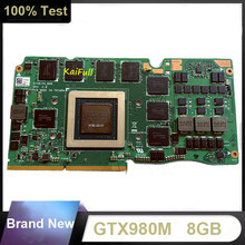 Brand New GTX 980M GTX980M N16E-GX-A1 8G VGA Video Graphics Card For ASUS G750J G750JY G750JYA Fast Shipping(China)