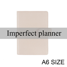Sınırlı kusursuz hakiki deri not defteri kapak A6 günlüğü planlayıcısı günlüğü kırtasiye küçük not defteri gündem organizatör büyük cep