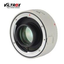 Viltrox adaptador de lente EF Extender 1.4X Teleplus Autofocus lente Teleconverter Telefoto Conversor para câmera Canon para EF 7DII 5D