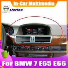 Sistema Android de 8,Eight pulgadas GPS para coche navegación para BMW 7 Collection E65 E66 2001 ~ 2008 Radio Audio Video HD pantalla táctil