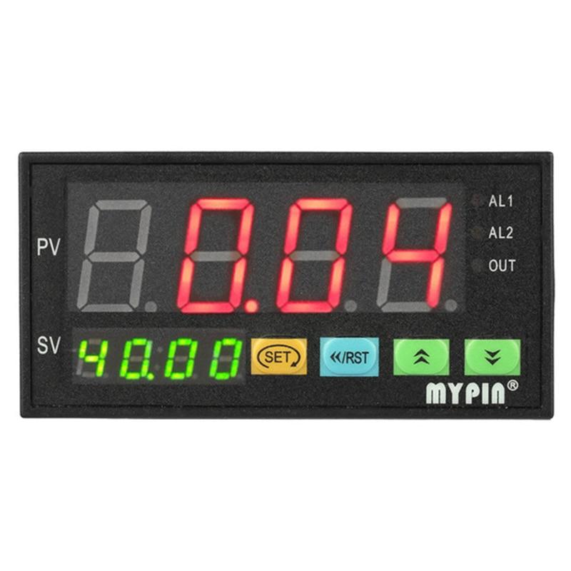 EASY-mypin Digital Sensor Meter Multi-Functional Intelligent Led Display 0-75Mv/4-20Ma/0-10V 2 Relay Alarm Output Da8-Rrb