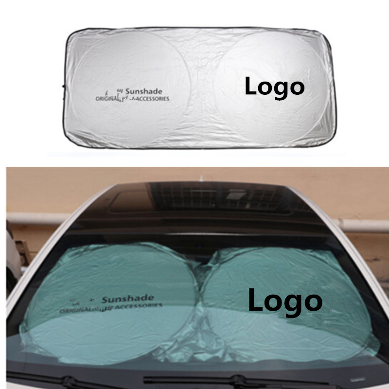 150*70cm Car <font><b>Accessories</b></font> Car Front Sunshades Stickers For <font><b>Mercedes</b></font> <font><b>Benz</b></font> AMG W202 W220 W124 W211 W222 X204 W164 W204 W203 <font><b>W210</b></font> image