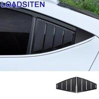 Automovil automóvel modificado cromo janela exterior estilo do carro protecter cobre adesivo tira 17 18 19 para hyundai elantra|Estilo de cromo| |  -
