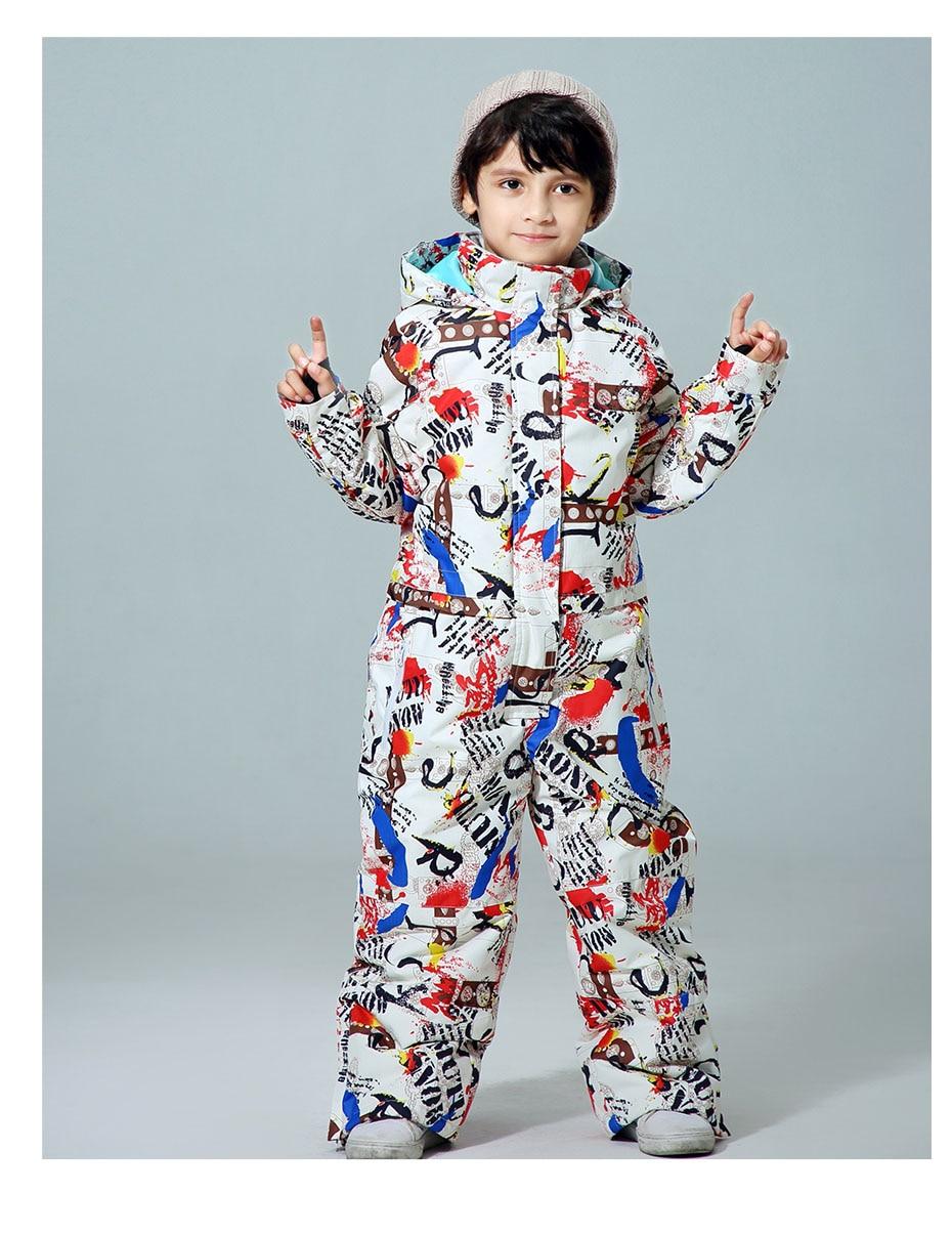 inverno crianças jaqueta e calça conjunto à
