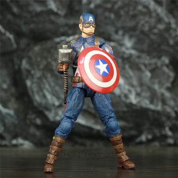 Marvel Avengers Endgame Captain America with Mijolnir 7inch. 2