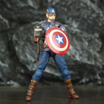 Marvel Avengers Endgame Captain America with Mijolnir 7inch. 2