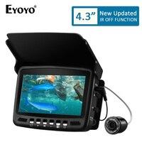 Eyoyo EF43A 20M Fish Finder 4.3 1000TVL Underwater Ice Carp Fishing Camera for Winter Sea Fishing Tackle Accessories Pesca