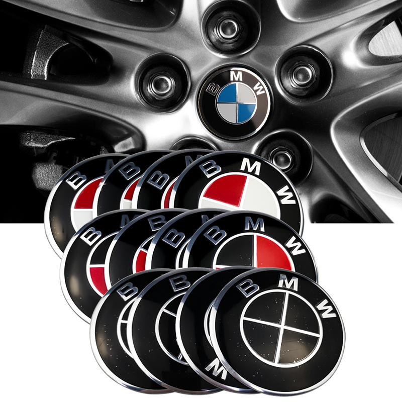 4pcs lot 56mm Car Wheel Hub Center Caps Cover Emblem for BMW X1 X3 X5 F10 F01  F11 F20 F30 E34 E36
