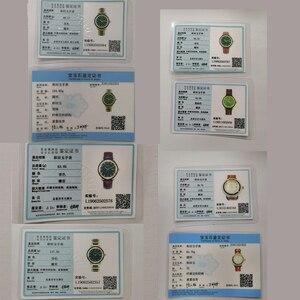 Image 5 - Tian Holle Mannen Mechanische Horloges Lederen Band Geavanceerde Beweging Met Jade Identificatie Certificaat Relojes Hombre