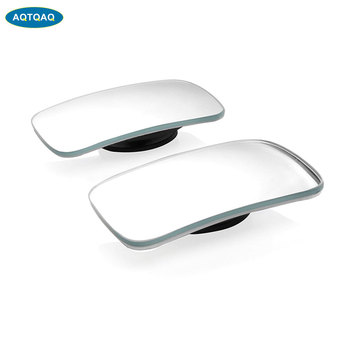 AQTQAQ 1Pair Blind Spot Mirror-Auxiliary Rearview Mirror HD Convex Suitable for All Universal Vehicles Cars and Drivers