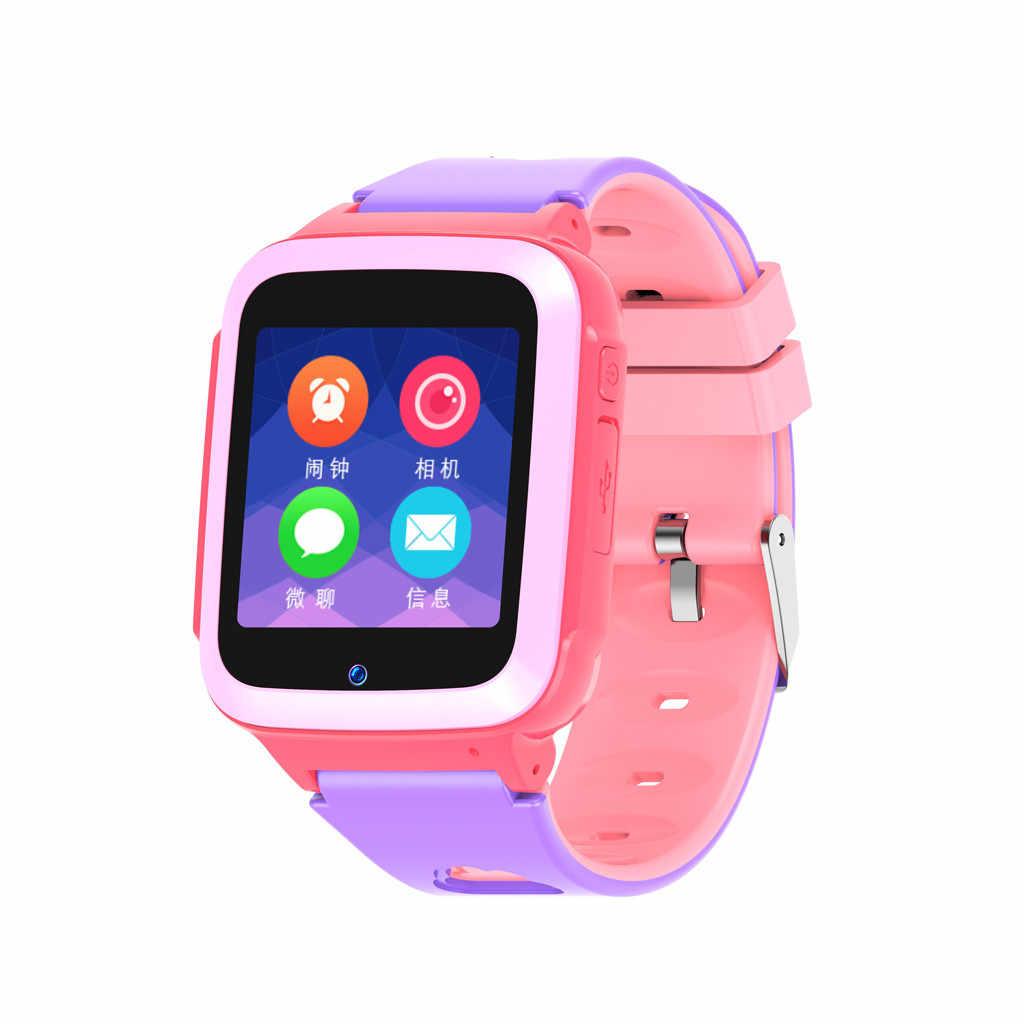 Детские gps Смарт часы 1,44 дюймов Анти-потеря Смарт-часы для детей девочек мальчиков 2019 горячие детские часы покупка Бесплатная доставка