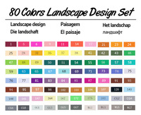 80 Landscape Set