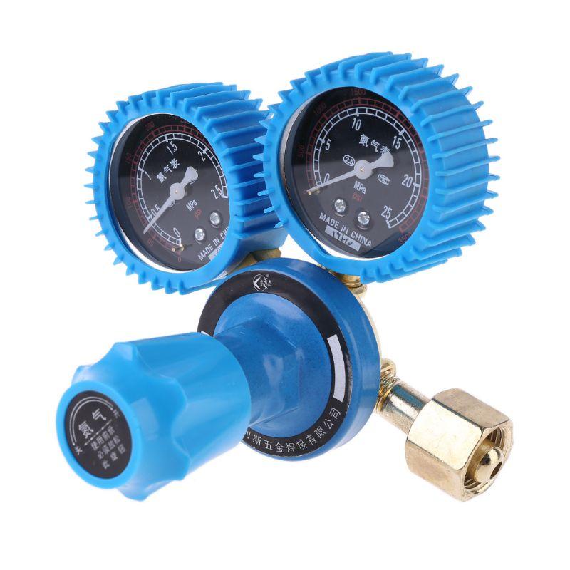 Nitrogen Pressure Gauge Welding Regulator Gauge Dual Nitrogen Pressure Reducer X4YD