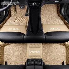 FUZHKAQI personalizada alfombrilla de pies para suelo de coche para infiniti qx70 fx qx60 fx37 qx50 ex G qx56 q50 q60 Q70 G25 G35 coche accesorios pie esteras