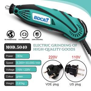 BDCAT 180W Elektrische Grinder-Tool Mini Bohrer Polieren Variable Speed Dreh Werkzeug mit 207 stücke Power Werkzeuge Dremel Zubehör