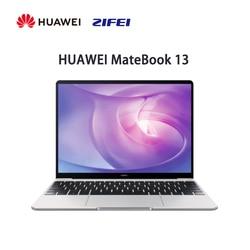 Huawei MateBook 13 Laptop RYZEN 5 3500U 16GB 512GB 2K Full Layar Tipis dan Ringan Kinerja Notebook sidik Jari Membuka