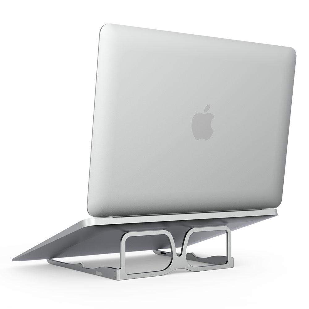 Алюминиевая Складная подставка для ноутбука, держатель для Macbook Pro Mac Book Air 13 15 Chromebook, настольные аксессуары Подставка для ноутбука      АлиЭкспресс