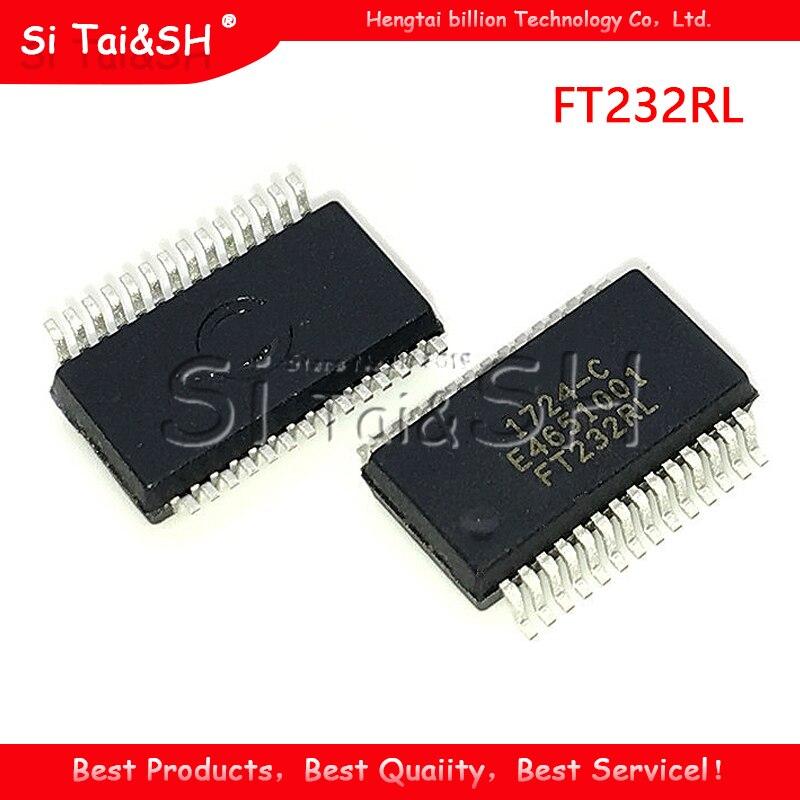 1 шт. Новый FT232RL FT232 FTDI SSOP28 USB чип для последовательного моста