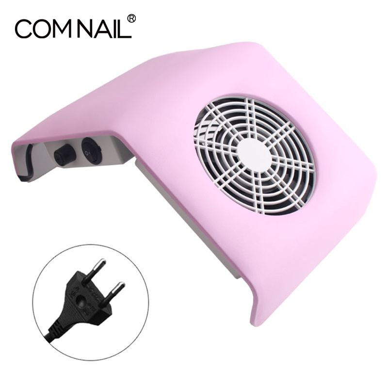 Nail Dust Collector Manicure Set Machine UV Gel Nail Polish Cleaner Manicure Tools Vacuum Cleaner Kit With 2 Dust Collector Bags