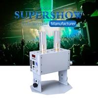 1pcs Doube Tube CO2 Jet Machine DMX LED RGB 3IN1 Cannon Machine for Big Show Stage Wedding DJ Equipment