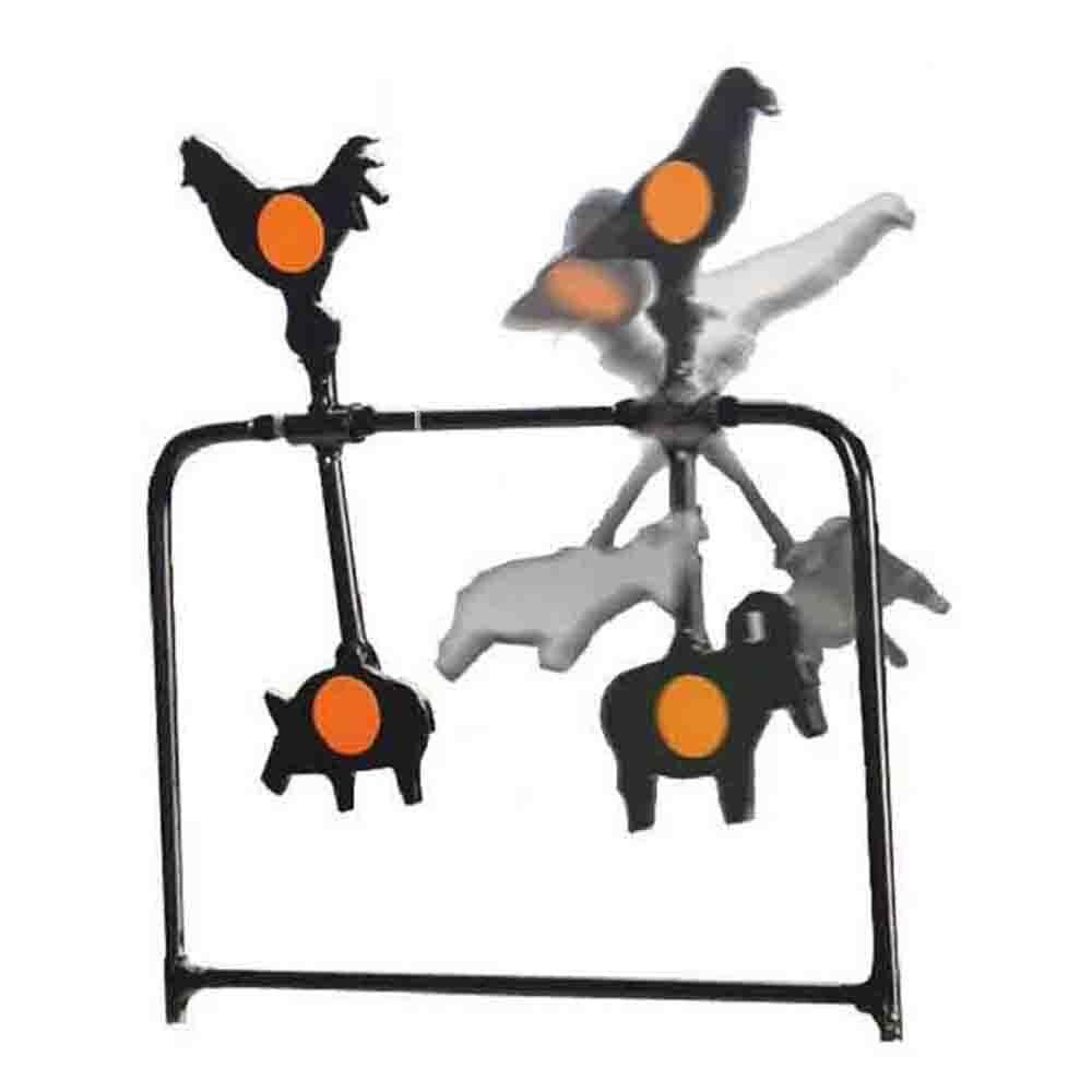 Metal spinner target air rifle target animals spinner target self reset target