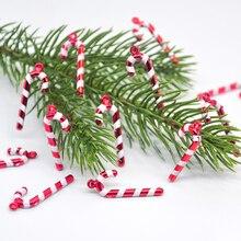 Toys Cane-Stool-Decoration Christmas-Tree-Pendant Candy Hanging Children Mini Cut Cake