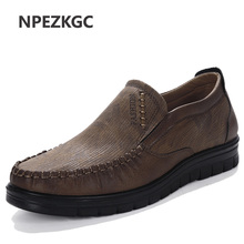 New Comfortable Mens Casual Shoes Hot Sale Loafers Men Shoes Quality Leather Shoes Men Flats Moccasins Shoes Big Size 38-48