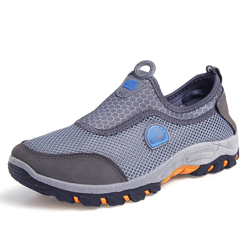 Men 39 s non cord casual shoes for spring and summer of 2019 Breathable mens shoes in Men 39 s Casual Shoes from Shoes