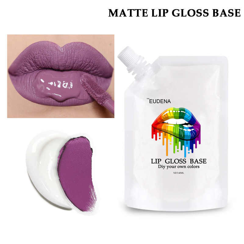 DIY Lip Gloss Basis Gel Material Nicht-stick Transparent Lip Gloss Foundation Handgemachte Geschmack Rohen Material Lip Gloss Basis öl TSLM2
