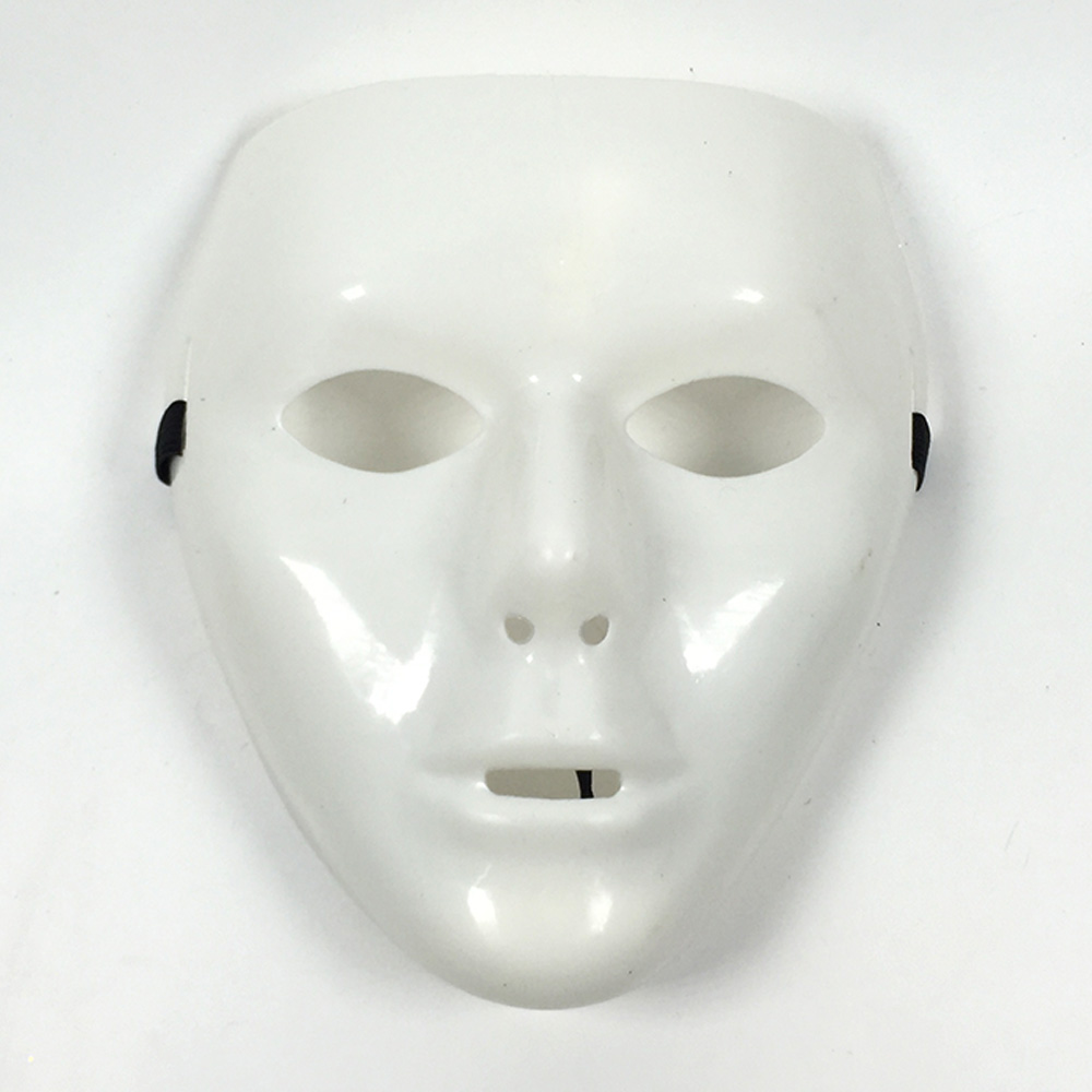 白色不可调面具-2