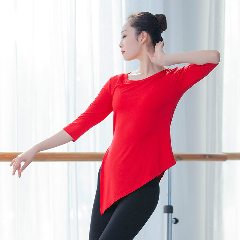 Modern Dance Exercise Clothing Dance Shirt Female Body Art Test Costumes Yoga Clothes Classical Dance Clothes Yoga Shirts Aliexpress