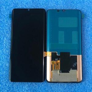 Image 2 - Оригинальный ЖК экран 6,47 дюйма для Xiaomi Mi Note 10 Mi Note 10 Pro, рамка + сенсорная панель, дигитайзер для Xiaomi Mi CC9 Pro