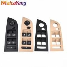 Beige or Black Electric Driver Window Mirror Control Switch Power Window Switch Switch Panel For BMW E90 318i 320i 325i 330i M3