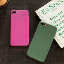 Fashion Matte Silicone Candy Soft Phone Case For Me