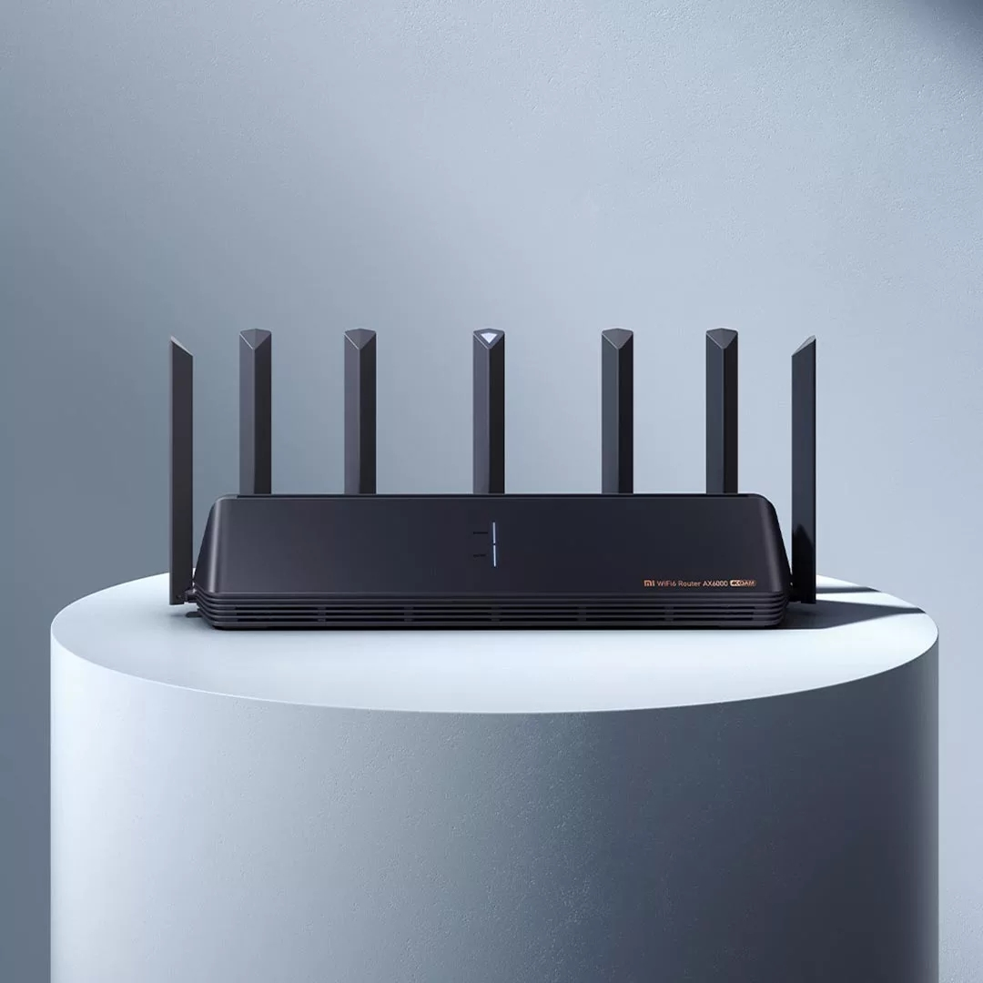 New Xiaomi Router AX6000 AIoT Router 6000Mbs WiFi6 VPN 512MB Qualcomm CPU Mesh Repeater External Signal Network Amplifier M 3
