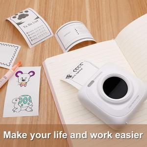 Image 5 - PAPERANG 미니 열 블루투스 프린터 휴대용 사진 사진 프린터 휴대 전화 안드로이드 iOS Impresoras Fotos 선물