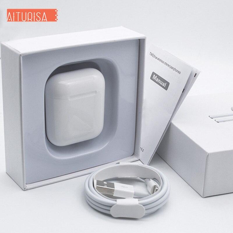 I500 TWS 2 Generations Replica 1:1 Wireless Earphone 5D Super Bass Original Tws Pk I20 I60 I80 I100 I200 3-4 Hours Play Time