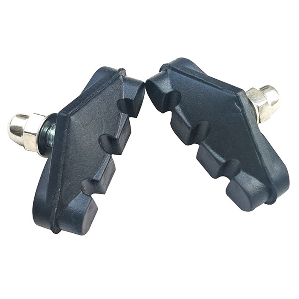 2Pcs Mountain Bike Bicycle Cycling Abrasive Rubber V-Brake Blocks Pads Shoes