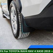 Lapetus קדמי ואחורי מגיני בץ משמרות פגושי מגיני כיסוי Trim Fit עבור טויוטה RAV4 RAV 4 XA50 2019 2020 2021 פלסטיק