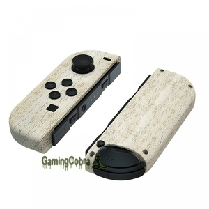 Image 3 - Pine Wood Grain Controller Housing with Full Set Buttons DIY Replacement Shell Case for NS JoyCon   CS208