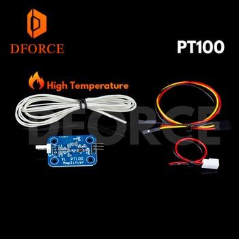 DFORCE V6 PT100 Total Upgrade Kit &V6 3D Print J-head hotend Single Cooling Fan kit for titan extruder areo free shipping недорого