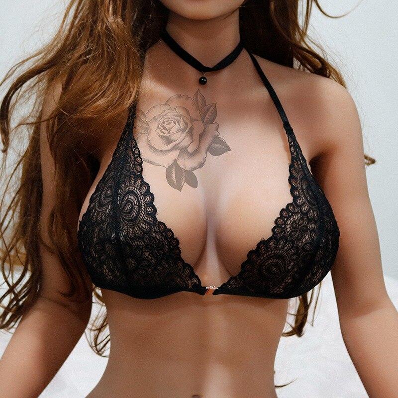 Женские бюстгальтеры с вырезами, цветочный кружевной сексуальный бюстгальтер, бюстгальтер без косточек, тонкое нижнее белье, перспективно...
