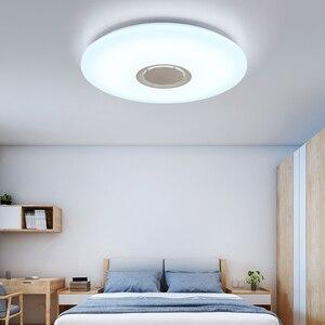 Image 4 - מוסיקה LED תקרת אורות RGB APP ושלט רחוק תקרת מנורת שינה 25W 36W 52W סלון אור lampara דה techo