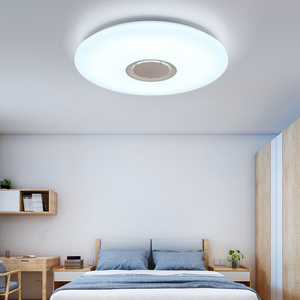 Image 4 - Music LED ceiling Lights RGB APP and Remote control ceiling lamp bedroom 25W 36W 52W living room light lampara de techo