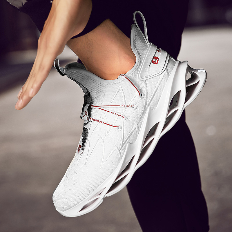 New Trend Sneakers Men Running Shoes Man Breathable Sports Non slip Zapatos Casual Basket Masculino Zapatillas Hombre Baskets in Running Shoes from Sports Entertainment