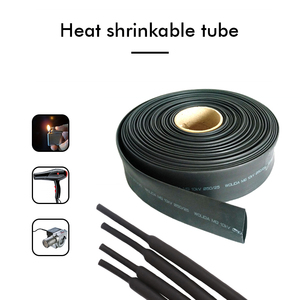 5M/100M Black Heat Shrink Tube Wire Cable sleeve Assorted Heat Shrink Tubing Insulated Sleeving wire Connector Protector