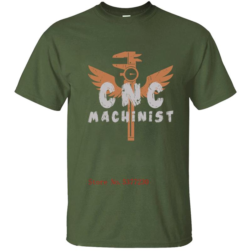 Casual Divertente Cnc Machinist Streetwear I Orgogliosi di Uccello Operatore Mens T-Shirt da Uomo T Shirt Maglietta Per Gli Uomini di Fitness di Stampa o-collo Magliette e camicette