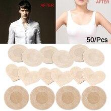 20/50 pçs feminino invisível mama lift tape sobreposições no sutiã mamilo adesivos no peito adesivos adhesivo sutiã mamilo cobre acessórios