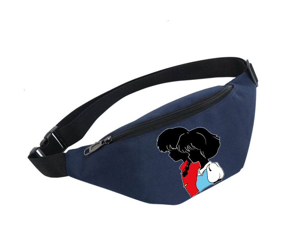 Waist Bag Women Belt Waterproof Chest Handbag Unisex Fanny Pack Ladies Waist Pack Belly Bags For Anime Inuyasha